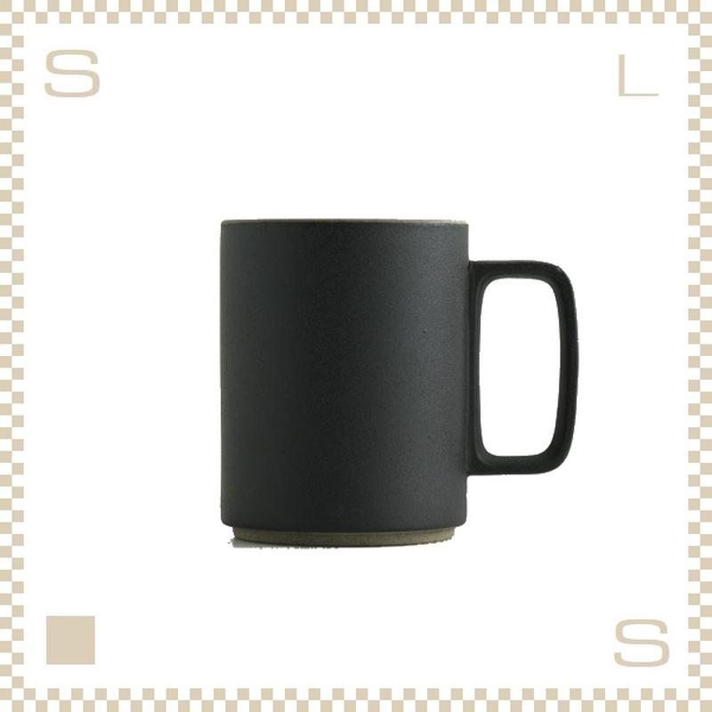 ハサミポーセリン マグカップ Lサイズ ブラック Φ85/H106mm 450ml スタッキング可 HPB021 Hasami Porcelain