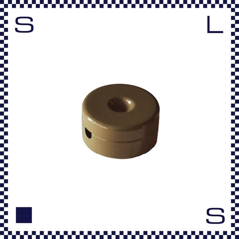 HERMOSA ハモサ BOBIN ボビン Sサイズ ブラウン コード調整 約60cm巻き取り可
