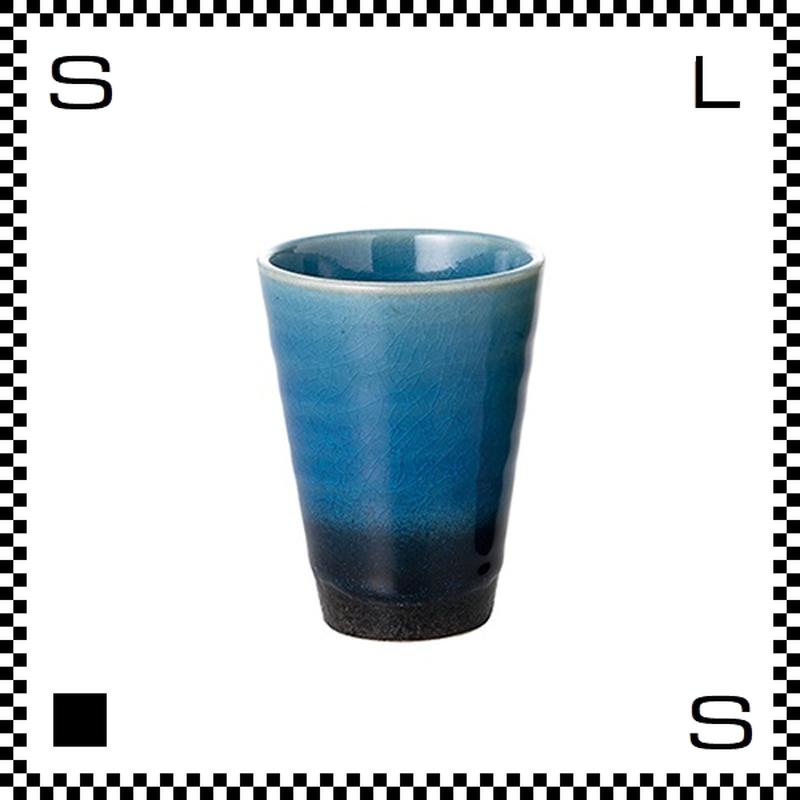 ヤマ庄陶器 信楽焼 ジュエルカップ ラピスラズリ 280ml Φ8.5/H11cm タンブラー フリーカップ ハンドメイド 日本製