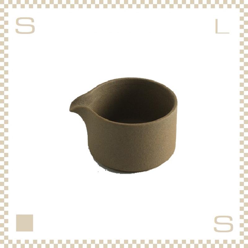 ハサミポーセリン ミルクピッチャー ナチュラル Φ85/H55mm スタッキング可 HP028 Hasami Porcelain