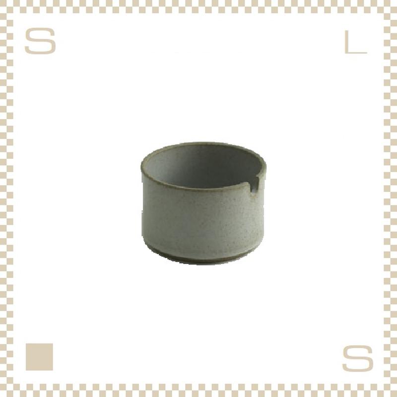 ハサミポーセリン シュガーポット クリア グロス Φ85/H55mm スタッキング可 HPM017 Hasami Porcelain