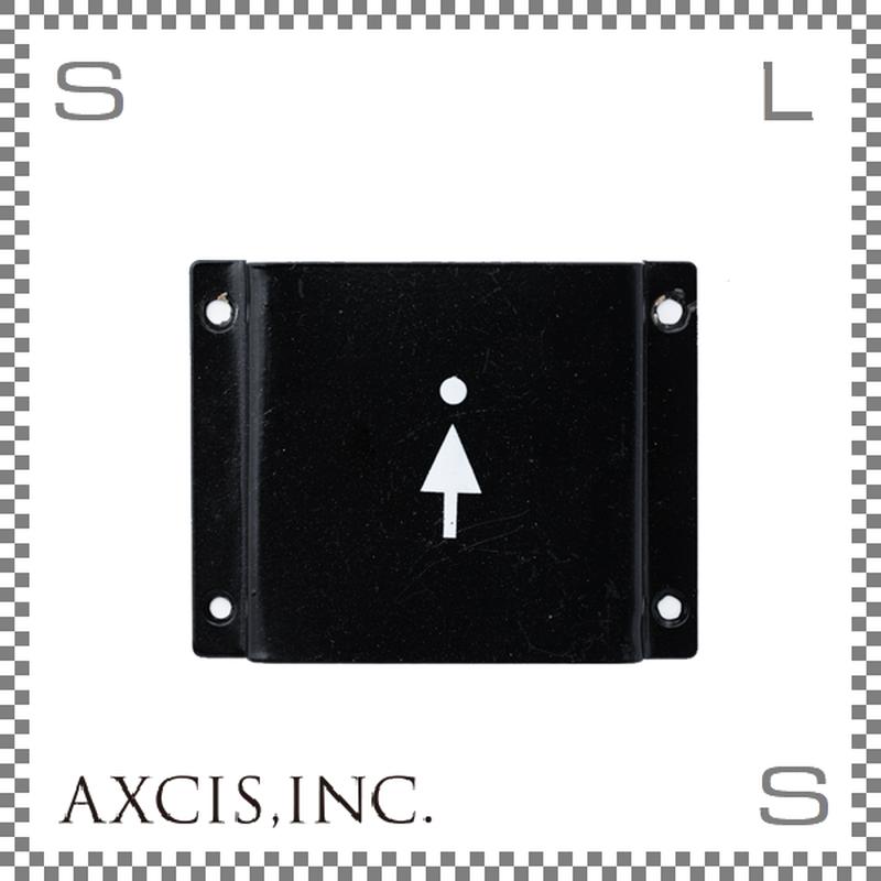 AXCIS アクシス アイアンサイン Women W103/D12/H80mm ウィメン スチール製 スチールプレート hs2585