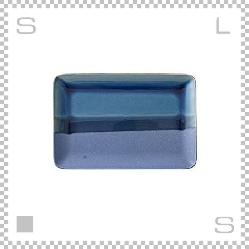 SAKUZAN サクザン COLOR カラー プレート Mサイズ インディゴ W227/D152/H15mm パステルカラー 日本製