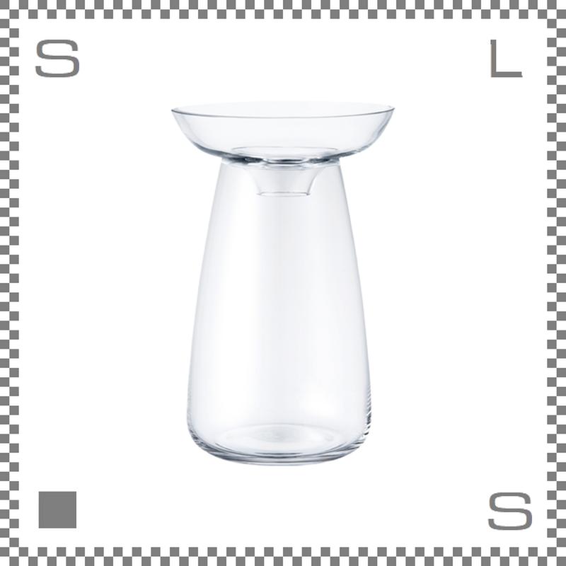KINTO キントー アクアカルチャーベース Mサイズ クリア 花瓶 ガラス製
