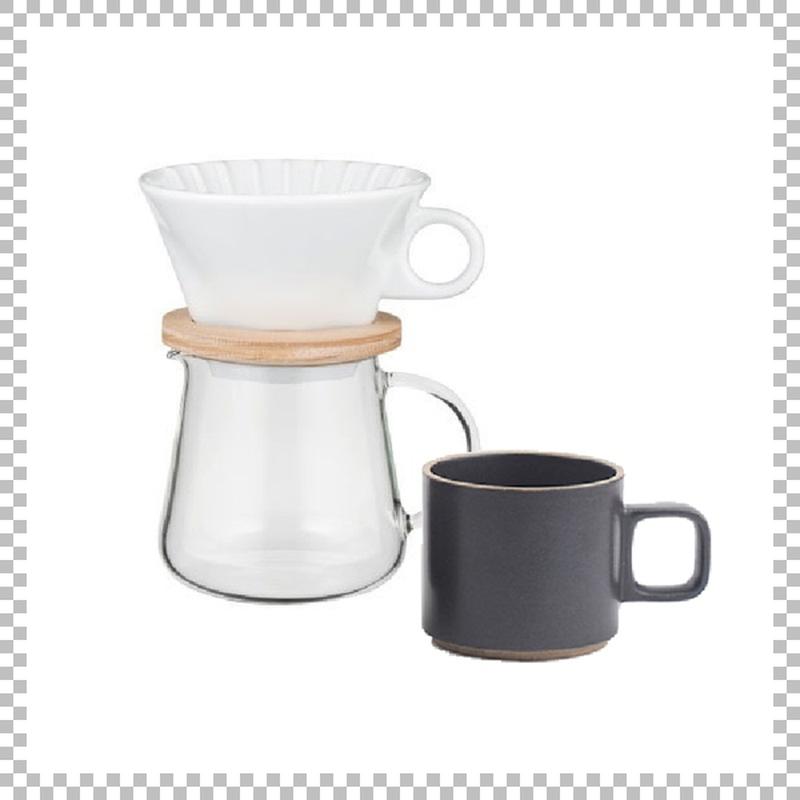 SNOWTOP COFFEE series スノウトップ コーヒーポット&ドリッパーセット 400ml & HASAMI PORCELAIN マグカップ Sサイズ ブラック
