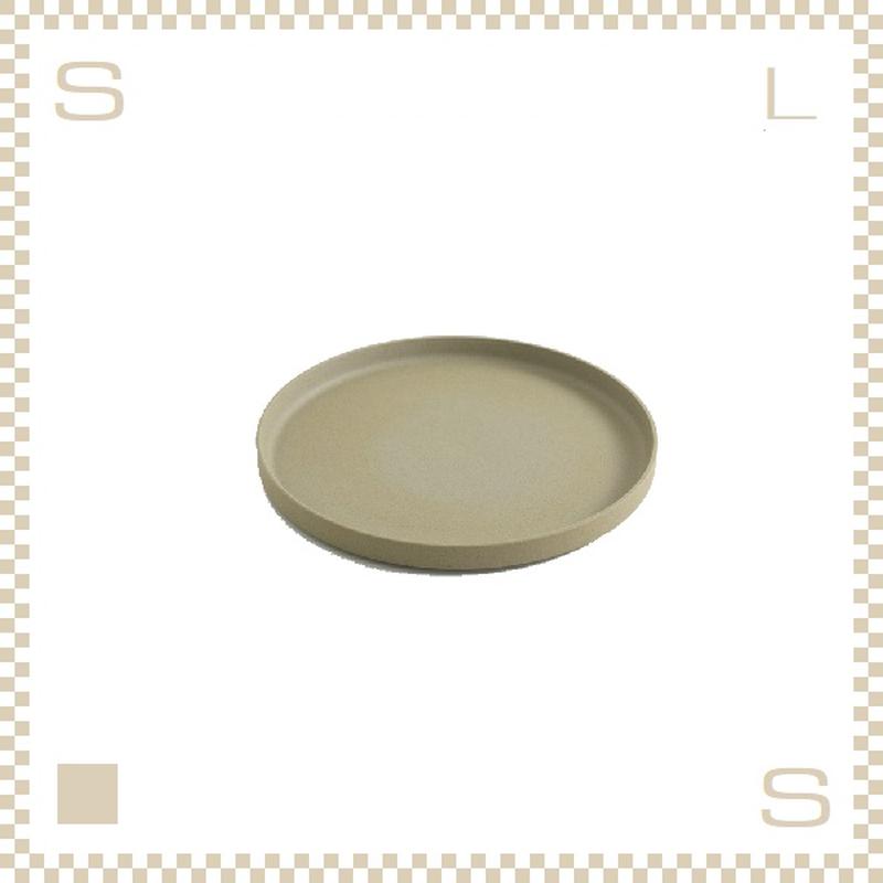 ハサミポーセリン プレート 直径145mm ナチュラル Φ145/H21mm スタッキング可 HP002 Hasami Porcelain