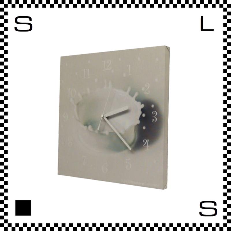 MILK CROWN ミルククラウン W30/D2/H30cm ミルク王冠 ウォールクロック 壁掛け時計 スイープクオーツ使用 日本製