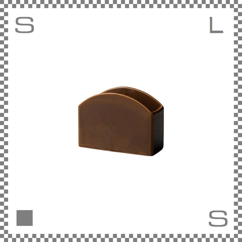 キントー SCS スローコーヒースタイル ペーパーフィルタースタンド ブラウン ペーパーフィルター入れ