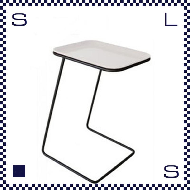 CAMBRO キャンブロ サイドテーブル スクエア フレーム:ブラック/シルバー ホワイト:天板 W360/H510/H280mm アメリカ製
