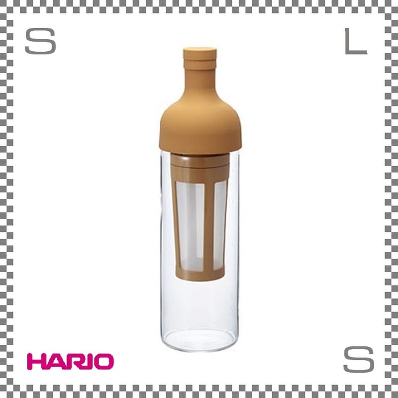HARIO ハリオ フィルターインコーヒーボトル モカ 5杯用 W87/D84/H300mm コールドブリューコーヒー 水出しコーヒー fic-70-mc