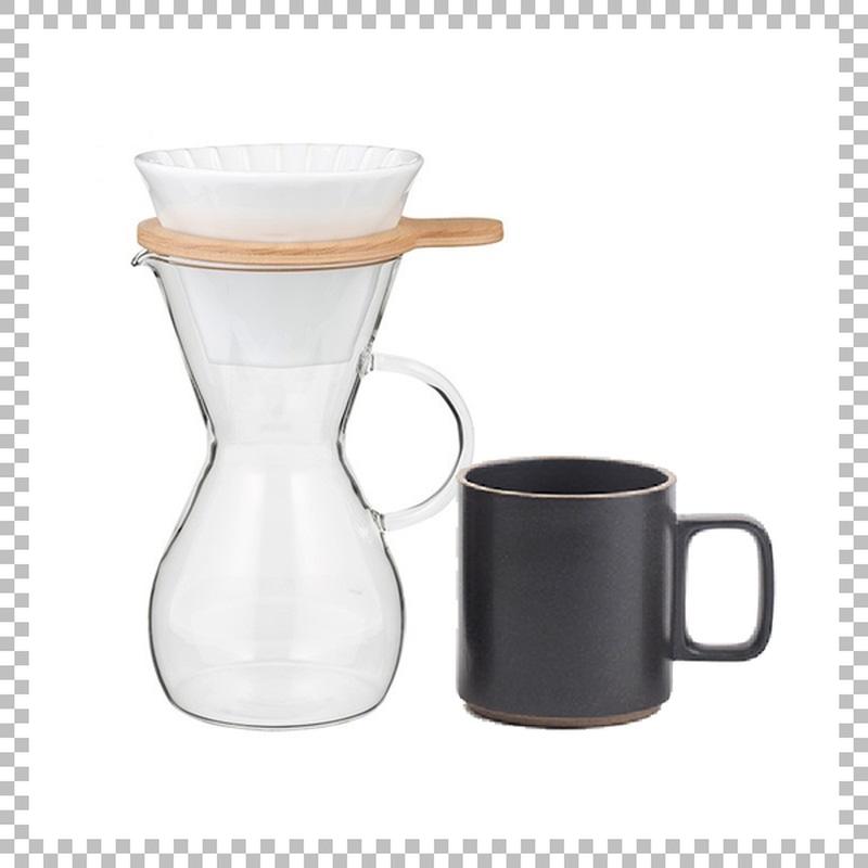 SNOWTOP COFFEE series スノウトップ コーヒーカラフェセット & HASAMI PORCELAIN マグカップ Mサイズ ブラック