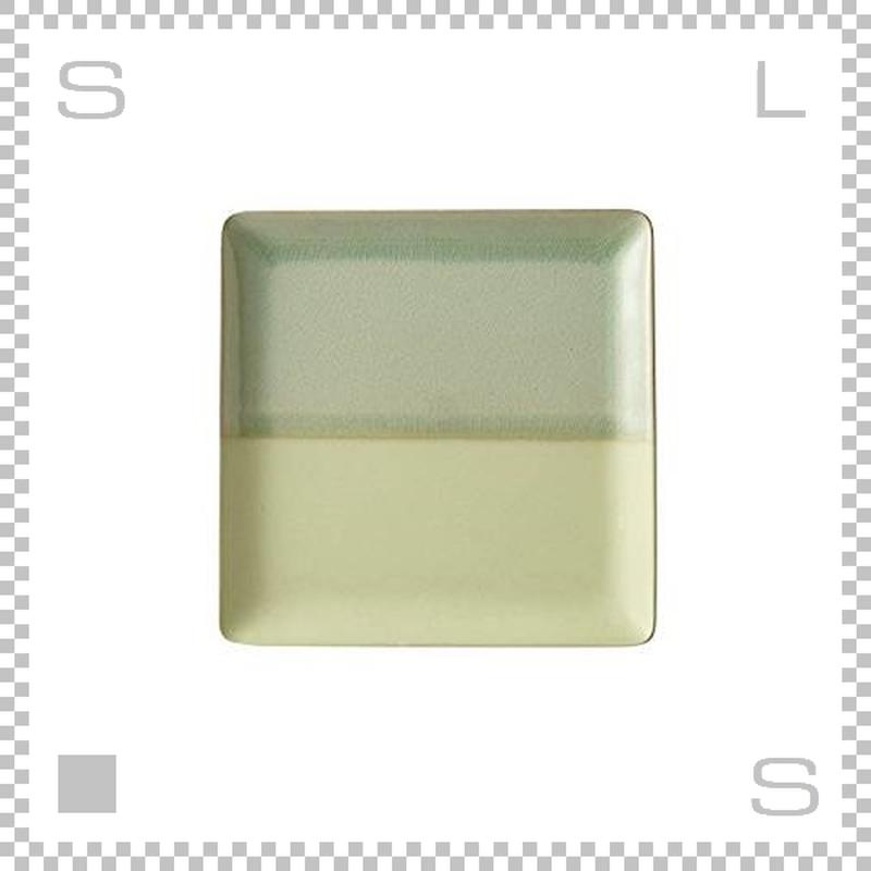 SAKUZAN サクザン COLOR カラー プレート Lサイズ グリーン W233/D233/H18mm パステルカラー 日本製