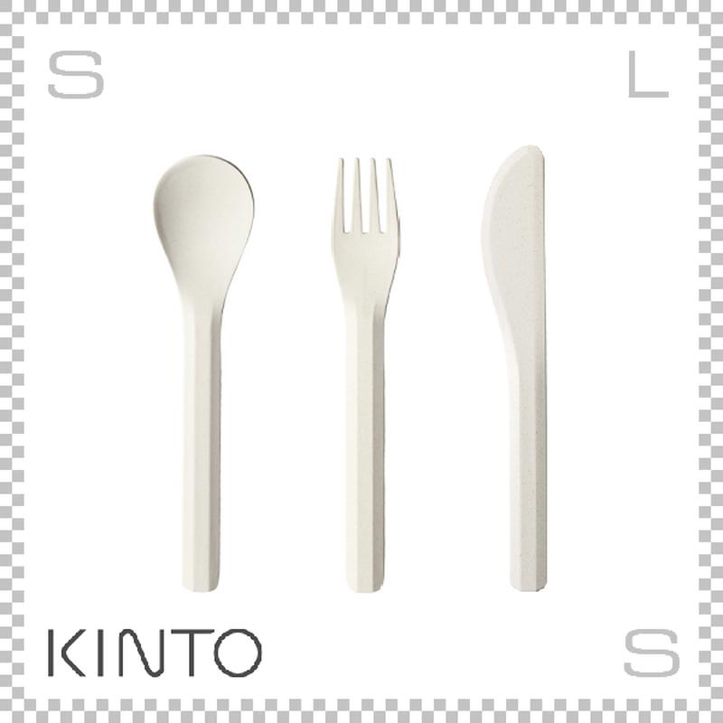 KINTO キントー ALFRESCO アルフレスコ カトラリーセット ベージュ フォーク スプーン ナイフ 樹脂製 アウトドア グランピング