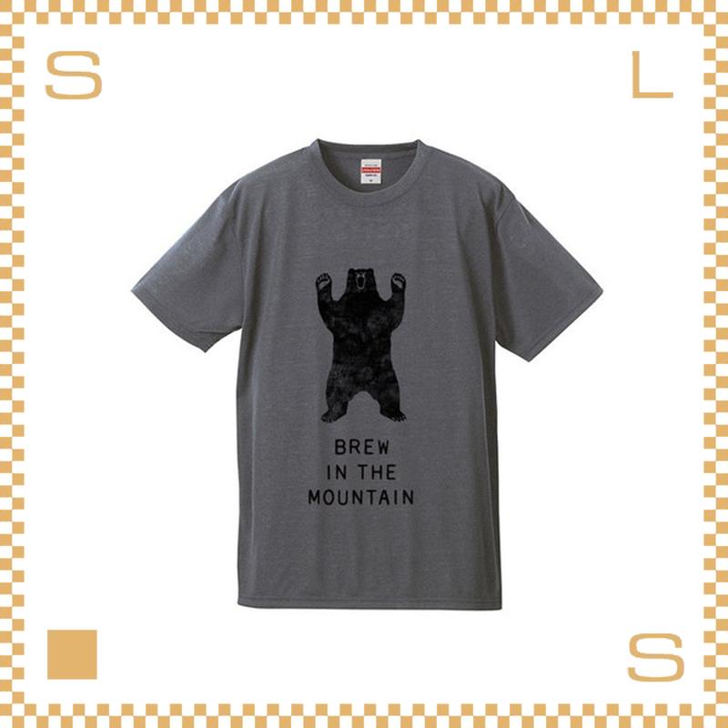 RIVERS リバーズ アンプラグドコーヒー Tシャツ BEAR ヘザーグレー サイズS~XL