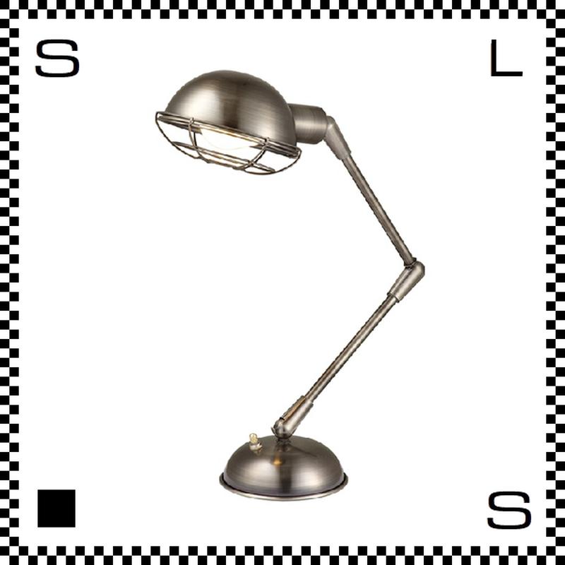 アートワークスタジオ Bronx ブロンクスデスクランプ クローム 電球付 アーム:450mm レトロアメリカンスタイル 2段アーム 鋳物 AW-0348V-CH