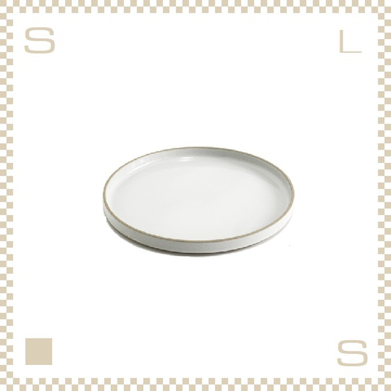 ハサミポーセリン プレート 直径145mm クリア グロス Φ145/H21mm スタッキング可 HPM002 Hasami Porcelain