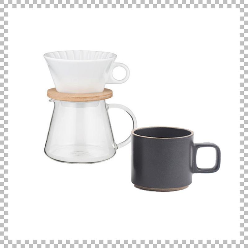 SNOWTOP COFFEE series スノウトップ コーヒーポット&ドリッパーセット 600ml & HASAMI PORCELAIN マグカップ Sサイズ ブラック