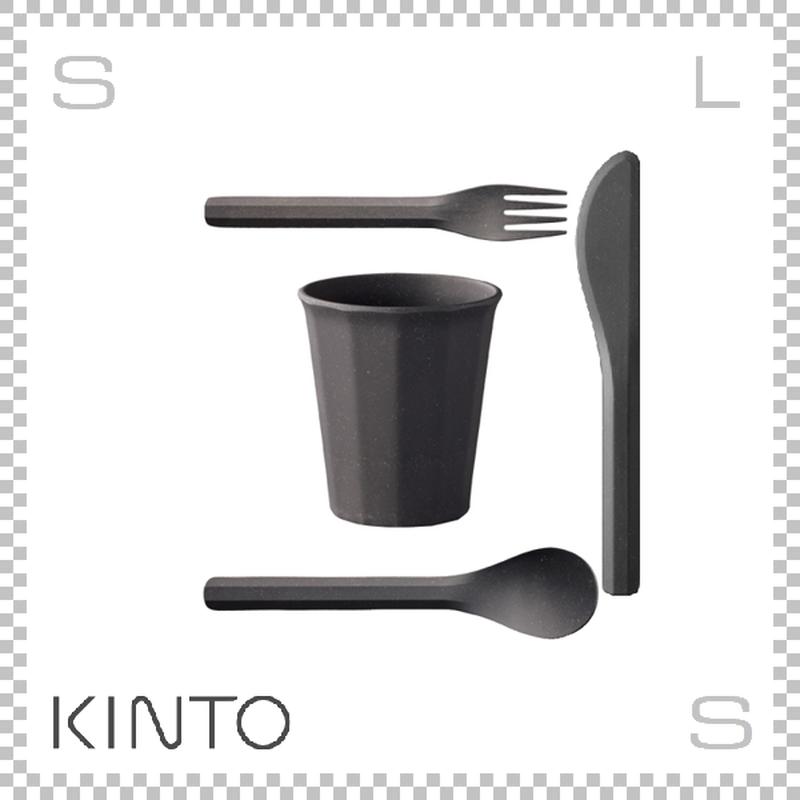 KINTO キントー ALFRESCO アルフレスコ タンブラーセット ブラック タンブラー カトラリーセット 樹脂製 アウトドア グランピング