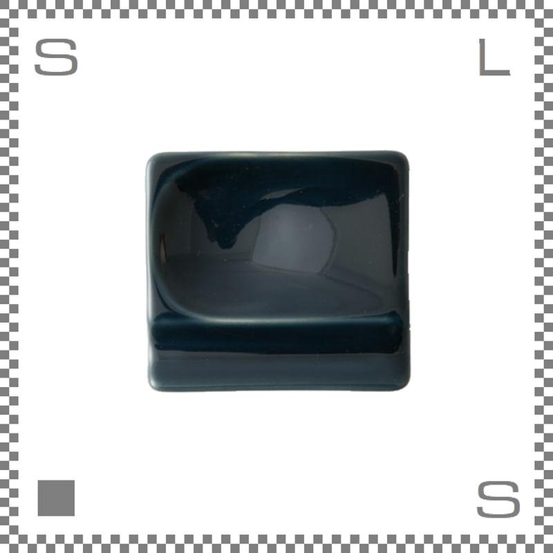 aiyu アイユー 重宝皿 ルリ 瑠璃 W8/D7.2/H1.3cm スクエアプレート 万能皿 箸置きスペースあり 波佐見焼 日本製