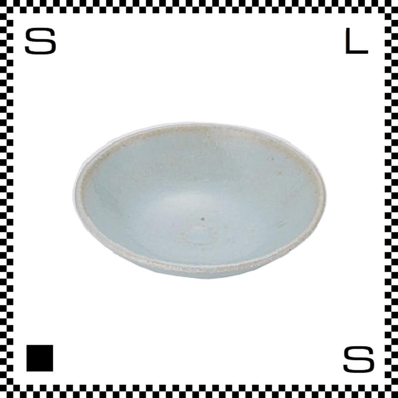 笠間焼 鈴木まるみ 小皿 空色 Φ12/H4cm(高台径:4cm) ハンドメイド プレート ラウンドプレート 日本製