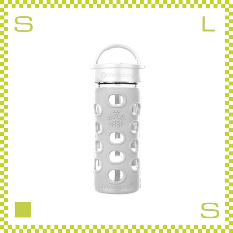 LIFEFACTORY ライフファクトリー グラスボトル クラシックキャップ 350 オプティックホワイト 350ml 携帯ボトル ガラスボトル
