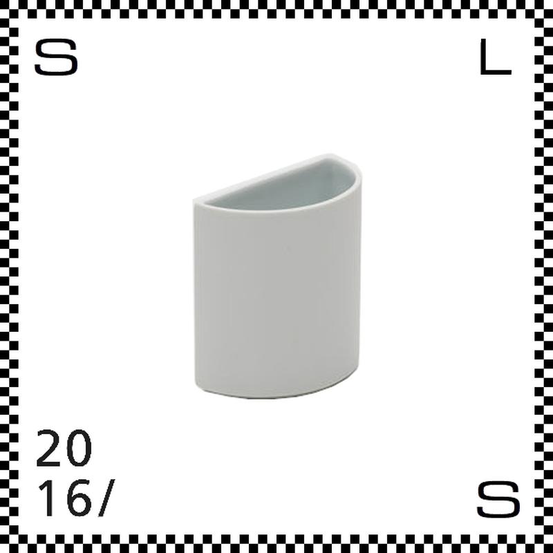 2016/ Tomas Alonso トマス アロンソ ベース Sサイズ ホワイト Φ100/H100mm 花瓶  ペン立て 有田焼 日本製 ta-032