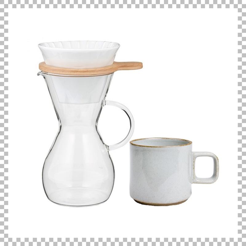 SNOWTOP COFFEE series スノウトップ コーヒーカラフェセット & HASAMI PORCELAIN マグカップ Sサイズ クリア(グロス)