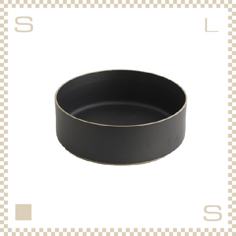 ハサミポーセリン トールボウル 直径220mm ブラック Φ220/H72mm スタッキング可 HPB016 Hasami Porcelain