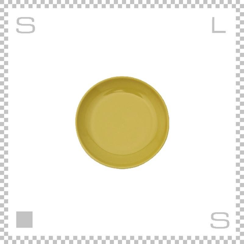Common コモン プレート 150mm イエロー Φ150/H18mm 波佐見焼 日本製