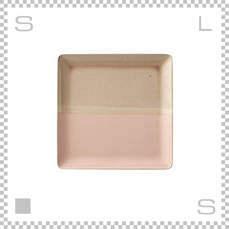 SAKUZAN サクザン COLOR カラー プレート Lサイズ ピンク W233/D233/H18mm パステルカラー 日本製