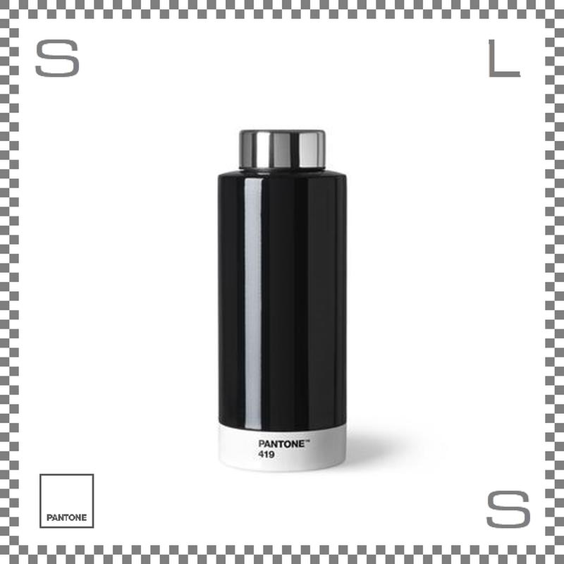PANTONE パントン ドリンクボトル スチール ブラック 630ml Φ74/H190mm ステンレスボトル 魔法瓶
