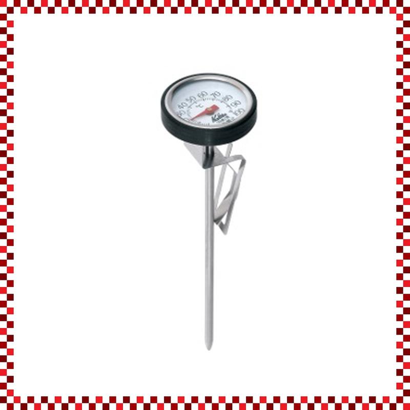 Kalita カリタ ドリップポット用サーモ W39/D39/H150mm 湯温測定計 コーヒー用温度計