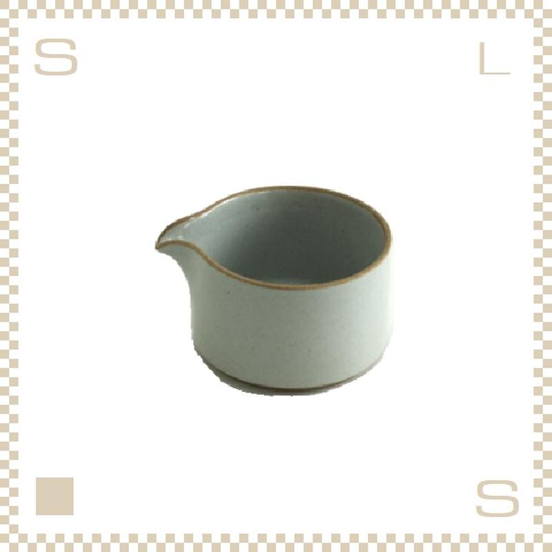 ハサミポーセリン ミルクピッチャー クリア グロス Φ85/H55mm スタッキング可 HPM028 Hasami Porcelain