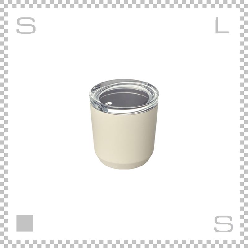 KINTO キントー トゥーゴータンブラー ホワイト 240ml ステンレスボトル マグボトル 携帯ボトル