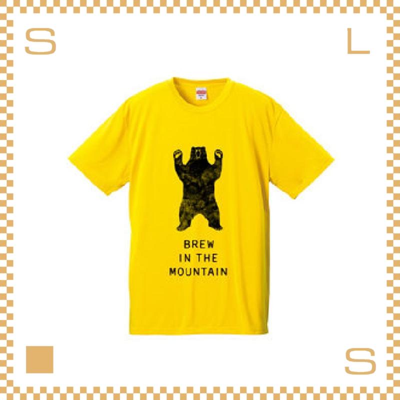 RIVERS リバーズ アンプラグドコーヒー Tシャツ BEAR イエロー サイズS~XL