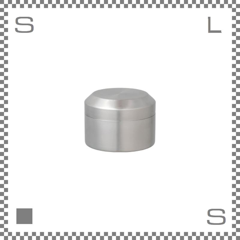 キントー リーブストゥーティー キャニスター 250ml ステンレス製 茶筒 保存容器