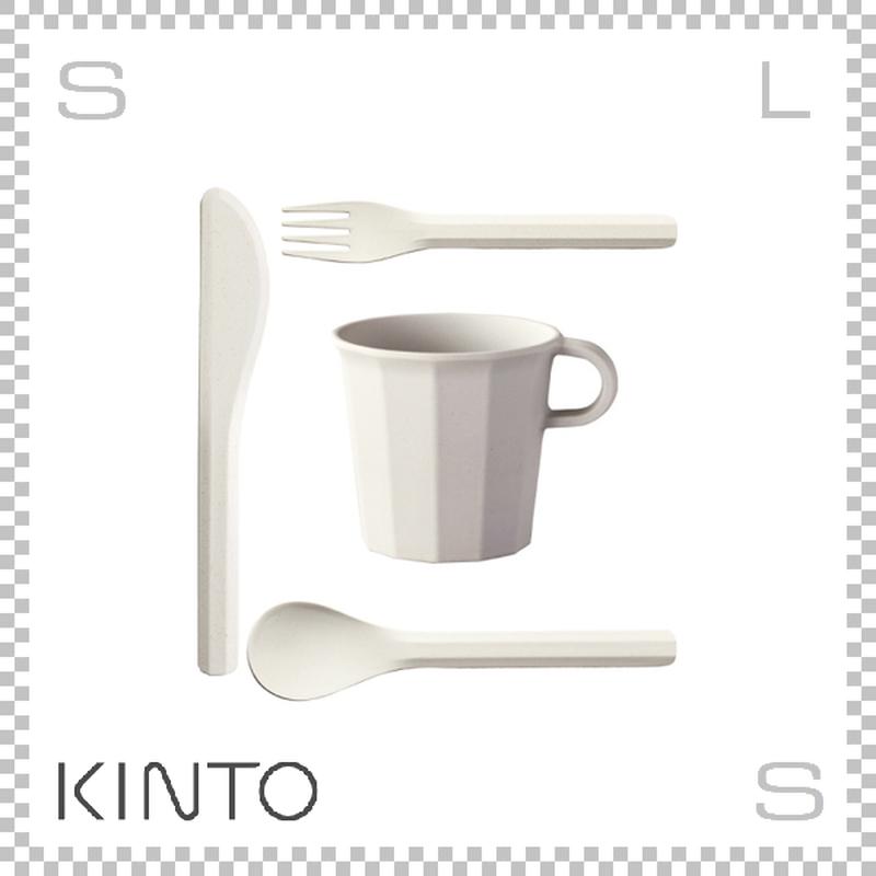 KINTO キントー ALFRESCO アルフレスコ マグカップセット ベージュ マグ カトラリーセット 樹脂製 アウトドア グランピング