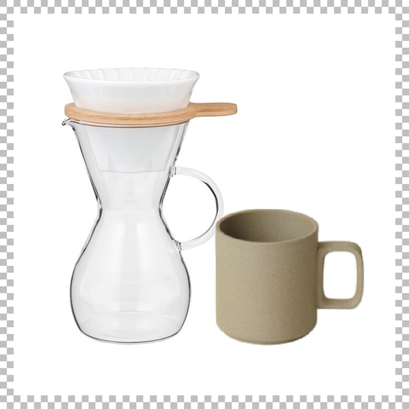 SNOWTOP COFFEE series スノウトップ コーヒーカラフェセット & HASAMI PORCELAIN マグカップ Mサイズ ナチュラル