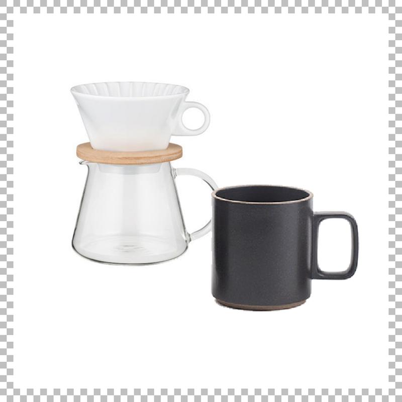 SNOWTOP COFFEE series スノウトップ コーヒーポット&ドリッパーセット 600ml & HASAMI PORCELAIN マグカップ Mサイズ ブラック