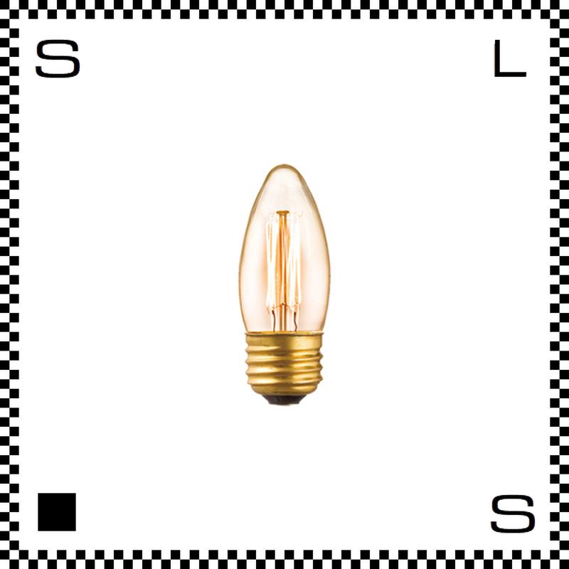 アートワークスタジオ レトロバルブランプ C35電球 40W BU-1163