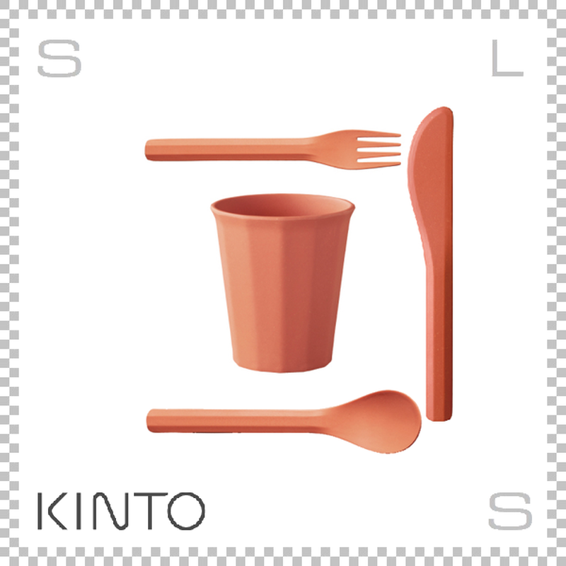 KINTO キントー ALFRESCO アルフレスコ タンブラーセット レッド タンブラー カトラリーセット 樹脂製 アウトドア グランピング