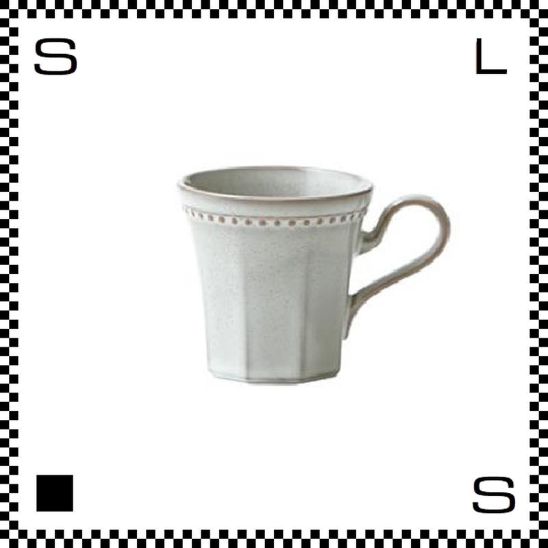 Coline コリーヌ コーヒーカップ ネージュ ホワイト Φ82/W115/H81mm 200cc オクタゴン 八角形 クラシックデザイン 日本製