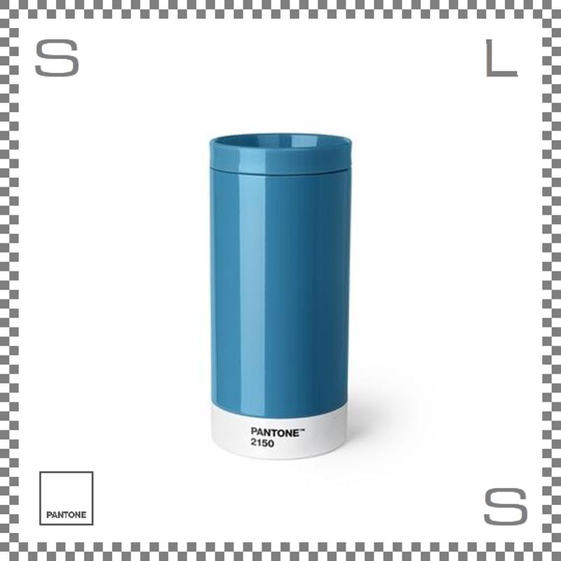 PANTONE パントン テイクアウトタンブラー ブルー 430ml Φ75/H164mm ステンレスボトル 魔法瓶