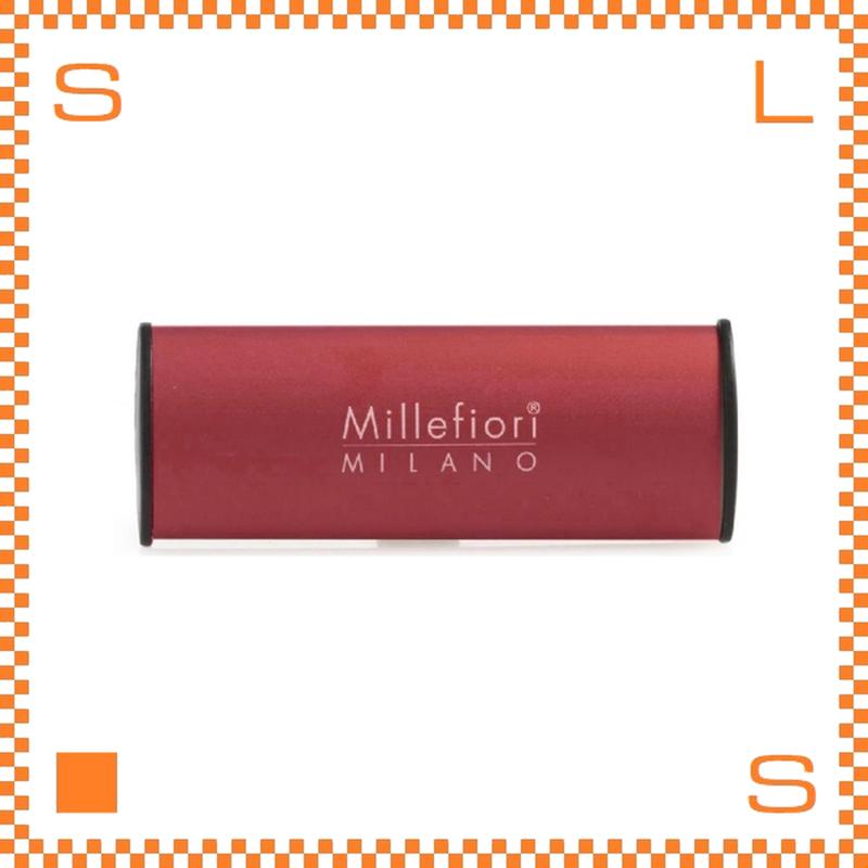 Millefiori ミッレフィオーリ カーエアフレッシュナー アイコン CLASSIC レッド アイシングシュガー