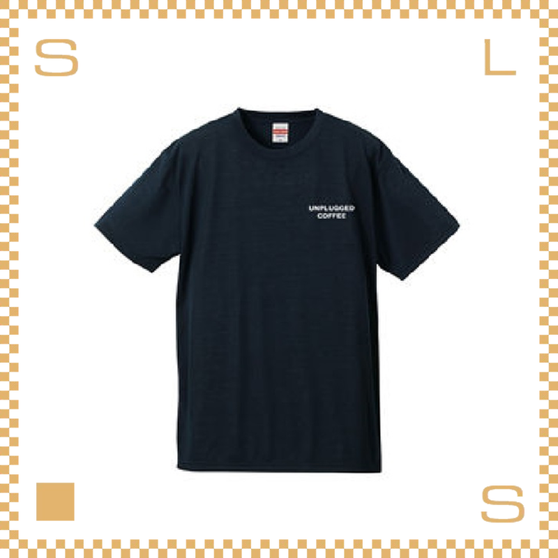 RIVERS リバーズ アンプラグドコーヒー Tシャツ MT ネイビー サイズS~XL