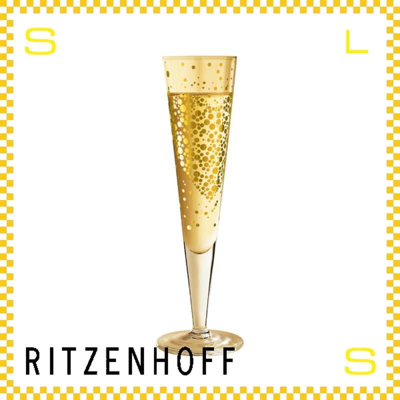 RITZENHOFF リッツェンホフ シャンパングラス 170ml バブル ダニエラ・メラッツィ Φ60/H240mm フルートグラス サークル ギフト  ritz-1070177