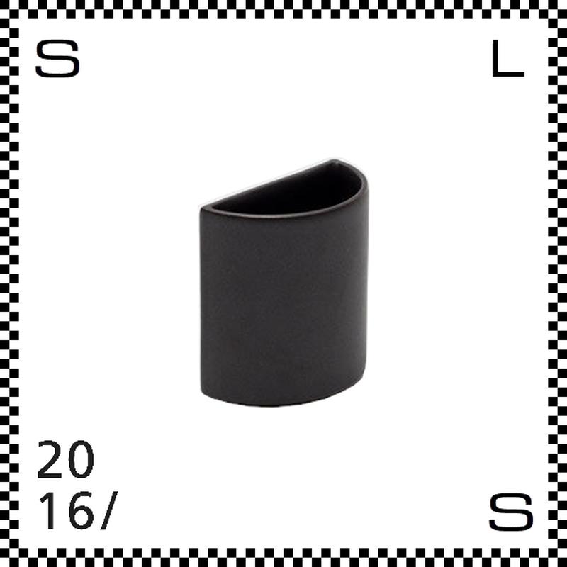 2016/ Tomas Alonso トマス アロンソ ベース Sサイズ ブラック Φ100/H100mm 花瓶  ペン立て 有田焼 日本製 ta-033