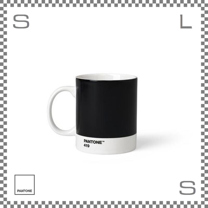 PANTONE パントン マグカップ ブラック 375ml Φ85/W124/H95mm マグ スープマグ