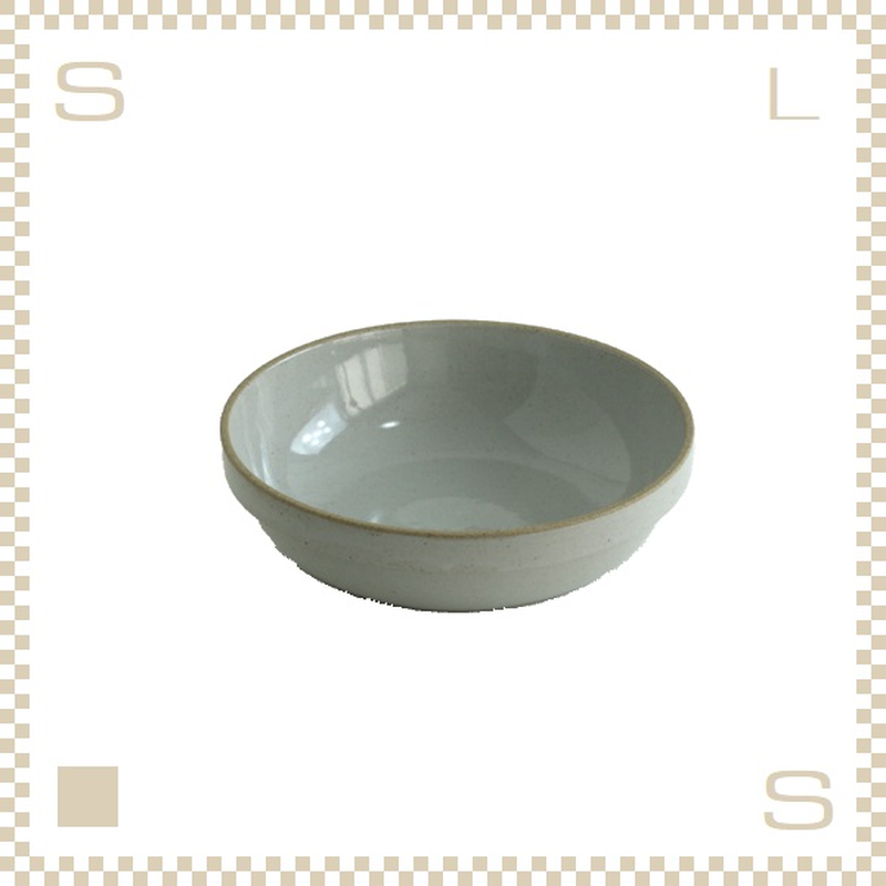 ハサミポーセリン ラウンドボウル 直径185mm クリア グロス Φ185/H55mm スタッキング可 HPM032 Hasami Porcelain