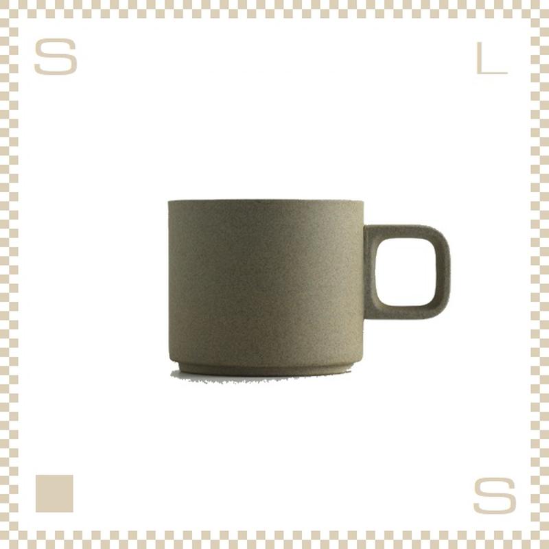 ハサミポーセリン マグカップ Sサイズ ナチュラル Φ85/H72mm 300ml スタッキング可 HP019 Hasami Porcelain